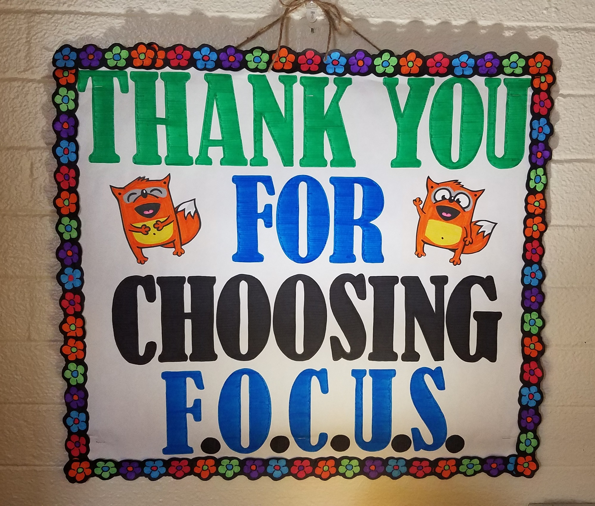 Thank you for choosing FOCUS
