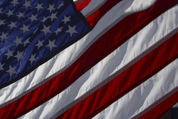 May is National Military Appreciation Month Photo of American Flag