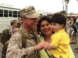 November is Military Family Month Photo of Military Families