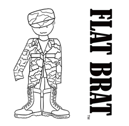 Flat Brat image from operationwearehere.com